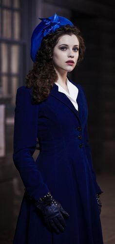 "Jessica De Gouw ""Mina Murray Dracula NBC Icon in dark blue"