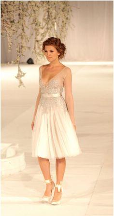 10 Fabulous Short Wedding Dresses | Mine Forever