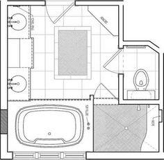 master bathroom floor plans Bathroom Remodeling and Bathroom Floorplans  Repair Home