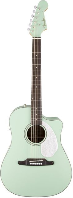Fender Sonoran SCE Cutaway for Sun-And-Fun Acoustic Action The Sonoran SCE is decked out for even more sun-and-fun acoustic action, upgraded with a three-ply pickguard, bone nut and bridge saddle, and
