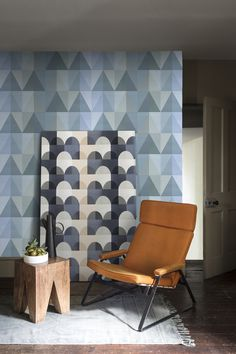 Shop the Imogen Heath Collection by Surface View for organic and geometric wallpaper murals, canvas prints, ceramic tile murals and more! Geometric Wallpaper Murals, Geometric Art, Tile Murals, Accent Chairs, Canvas Prints, Uk Shop, Wall Art, Canvases, Bespoke