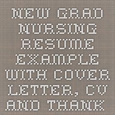 new graduate nursing resumes