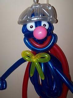 It's a bird, it's a plane, it's....Super Grover!
