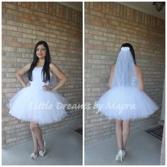 Hey, I found this really awesome Etsy listing at https://www.etsy.com/listing/241751928/bride-bachelorette-tutu-skirt-and-veil