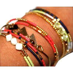 6-Piece Stackable Wrap Bracelets