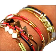 6-Piece Stackable Wrap Bracelets