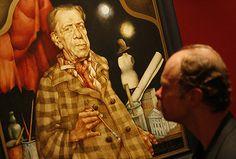 """strona 10 z galerii """"Gęby"""" Dudy-Gracza.  W Muzeum Historii Katowic otwarta została wystawa portretów Jerzego Dudy-Gracza """"Gęby"""". Na ekspozycję składa się 60 portretów i autoportretów artysty."""