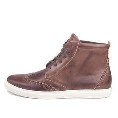 Ylati Footwear: Venere High Shoes Mens Brown