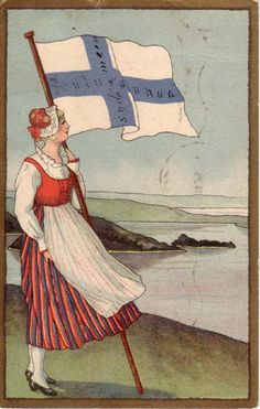 """folkthings: """" Finnish illustration""""- pin by Paolo Marzioli Moomin, Helsinki, Finland Flag, Finland Travel, Popular Colors, Vintage Fishing, Europe, Vintage Travel Posters, Illustration"""