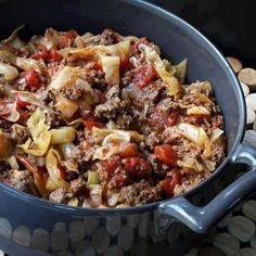 Hearty and delicious unstuffed cabbage rolls