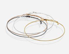 定番使いに、デインティ(華奢)なシンプルチェーンのブレスレット PILGRIM(ピルグリム)ジュエリー&アクセサリー PILGRIM Dainty Bracelet