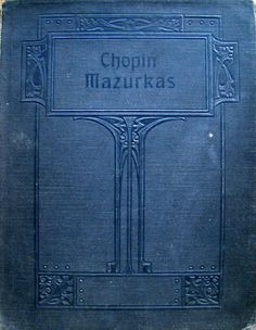 music book cover ... Chopin