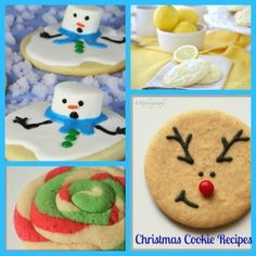 Cute Christmas cookie recipes for the holidays