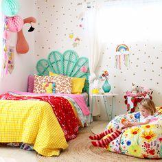 kids bedroom ideas | girls room decor inspo - more pics on the blog www.fourcheekymonkeys.com