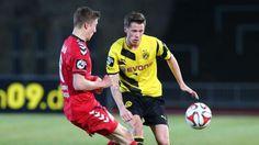 Drittligist: Borussia Dortmund II vs Großaspach. #erikdurm #bvbII #3liga cute