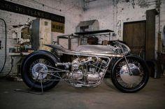 Supercharged Ironhead | Hazan Motorworks