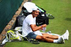 ....on Wimbledon grass