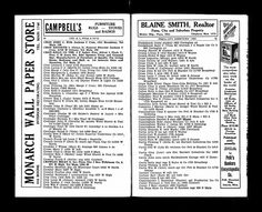 1938 City Directory