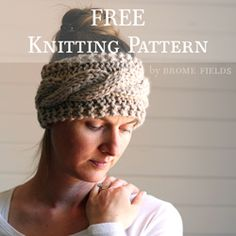 FREE Friendship Cable Headband Knitting Pattern Video – Brome Fields