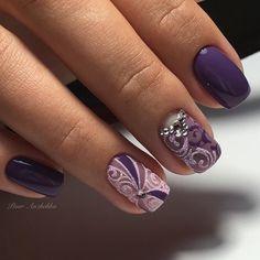 and Beautiful Nail Art Designs Nails Now, My Nails, Spring Nails, Winter Nails, Cute Nails, Pretty Nails, Basic Nails, Nail Art Techniques, Bride Nails