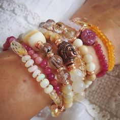 Now, more than ever, jewels can have a unique, personal significance for us all! #stackurday #jewelrystack #inspo Etsy shop 🔗 link in Bio ✨ . . . . . #anandagem #semiprecious #gemstonejewelry #gemstones #love #infused #handmade #intentional #boho #bohostyle #gypsy #hippie #goddess #yogi #yogini #buddha #armcandy #jewelrywithbenefits #beautiful #instyle #fashion #accessories #etsy #healingstones #goodvibes #crystals #ehted
