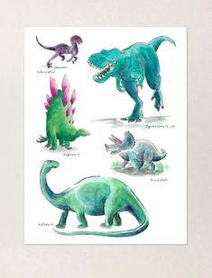 DINOSAUR HEAVY TRAFFIC SIGN 16 1//2 by 16 1//2 NEW  t-rex decor picture  animals