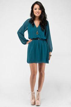 Cute long sleeved dress
