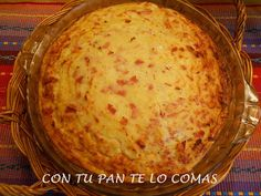 Con tu pan te lo comas: PASTEL DE PATATAS Y JAMON YORK