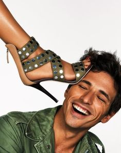 JULES FASHION: ✤ Andrés Velencoso Segura for Giuseppe Zanotti Spring/Summer 2010 ad campaign ✤