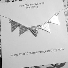 Item of the day: Bunting necklace