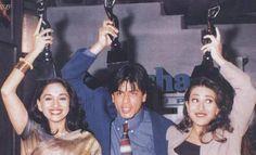 Photos,karisma kapoor,shah rukh khan,Madhuri Dixit,Dil to Pagal hai,Madhuri Dixit Shah Rukh Khan Karisma Kapoor,Madhuri DTPH