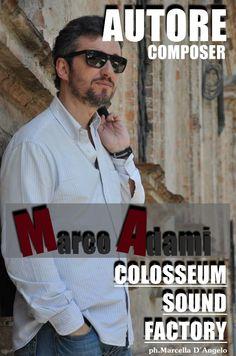 AUTORE MARCO ADAMI Wayfarer, Ray Bans, Mens Sunglasses, Music, Style, Audio Studio, Musica, Swag, Musik