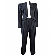 Vintage Yves Saint Laurent Rive Gauche Smoking Tuxedo #archivexcostar