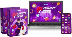 Animated Icons, Animated Cartoons, Vector Animation, First Animation, Cartoon Background, Cartoon Icons, Made Video, Level Up, You Videos
