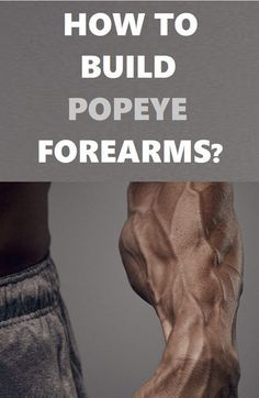 Best workouts you need to try if you want to build Popeye forearms. Push Workout, Gym Workout Chart, Gym Workout Videos, Abs Workout Routines, Biceps Workout, Gym Workouts For Men, Fun Workouts, Best Forearm Exercises, Forearm Muscles