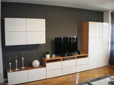 Ikea Basta - like the layout for basement wall