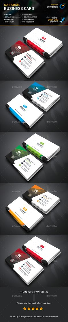 Graphic Design For your Business you can Download Here Thanks #BusinessCard…