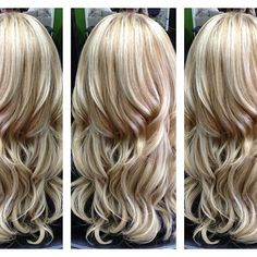 blonde with light caramel pieces