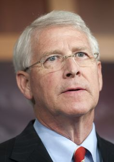 Roger Wicker. Jr. Sen from MS. Served in the USAF from '76-'80. Starting in '80, he was a member of the Air Force Reserve, retiring from it in '03 as a LtCol. Served as a judge advocate. Dec '07 he was appointed by Gov Haley Barbour to fill the seat vacated by Trent Lott. On Apr 16, '13, a letter addressed to Sen Wicker tested + for the poison ricin. The ranking member on the Airland armed services subcommittee as well as a member of the Emerging Threats & Capes + Seapower subcommittees. Air Force Reserve, Letter Addressing, Pseudo Science, Capes, Climate Change, Jr