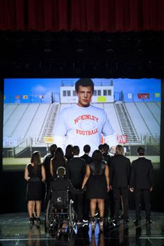Watch Last Night's Seriously Touching 'Glee' Tribute to Cory Monteith