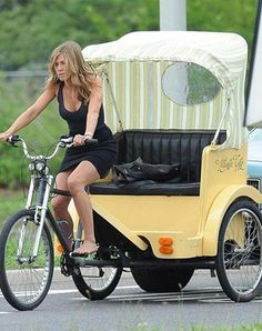 Jennifer Anniston has my dream trike