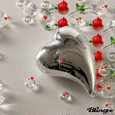 Blue Butterfly Wallpaper, Heart Wallpaper, Love Wallpaper, Beautiful Flowers Wallpapers, Beautiful Rose Flowers, Beautiful Love Pictures, Love Images, Romantic Kiss Gif, Animated Heart