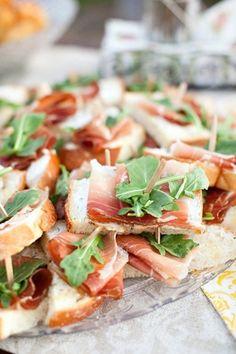 wedding  ideas wedding food meat