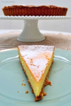 Cheesecake Pie, Sweet Pie, Portuguese Recipes, Something Sweet, Coco, Cupcake Cakes, Delish, Deserts, Good Food