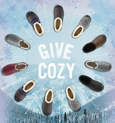 Give Cozy! KEEN Slippers are always loved! #giftyeah #snoproblem   http://www.keenfootwear.com/search.aspx?q=slippers