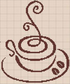 Схемы чай и кофе / Схемы вышивки крестиком / PassionForum - мастер-классы по рукоделию