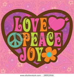 Peace and Love Colors