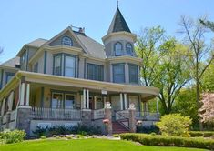 """The B&B where Bill Murray stayed in the movie """"Groundhog Day"""" known as the Royal Victorian Manor in Woodstock, Illinois."""
