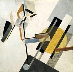 Painting by Russian artist El Lissitsky c1922
