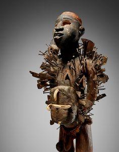 Kongo-Yombe Power Figure, Democratic Republic of the Congo Royal Academy Of Arts, Republic Of The Congo, October 10, York, London, Stone, People, Rock, Stones